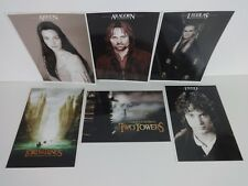 Lord Of The Rings Large Actor Photos Headshots X6 A4 Headed Gloss Posters LOTR