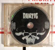 DANZIG SELF TITLED 1ST ALBUM PROMO CD DEF AMERICA 1988 DEF 24208-01 VERY RARE