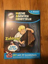 Lernkrimi Mathematik, 5. Klasse: Mathe Agenten Ermitteln (20 Lernkrimis)