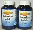 2X Potassium Iodide 65mg 400 Capsules Total Expires 2025