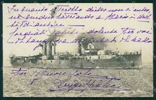 Latina Gaeta Regia Nave San Marco Marina Militare Foto cartolina XB2071