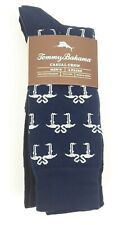 (4) Pairs of Tommy Bahama Men's Casual Crew Socks -Flamingo Love NEW