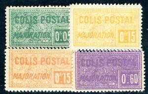ALGERIE PAKET 1924 Yvert CP 10c,11b,c,13b ** POSTFRISCH OHNE AUFDRUCKE (F4700