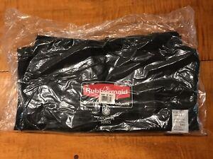 Rubbermaid Executive Series Step-on Linen Hamper Bag Housekeeping Cart 6350 NEW