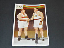 LOS ANGELES 1932 J.O. OLYMPIC GAMES OLYMPIA HALTEROPHILIE STRASSBERGER SKOBLA