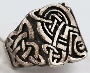 RING Sygnet VIKING Sterling SILVER 925 Unisex WOMAN Man GIFT Jewelry UKRAINE S