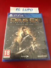 Deus EX Mankind Divided Day One Edition Ps4 Square Enix