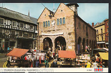 Herefordshire Postcard - The Market, Ross-On-Wye   U909