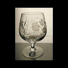 Stuart Crystal Cascade 5 1/8 Inch Brandy Glass original label