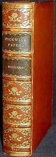 The Posthumous Papers of the Pickwick Club Dickens 1st ed. 1837 53 plates VG+