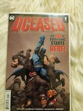 Rare DCeased #1 1st print comic nice !!!!!!