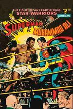 MUHAMMAD ALI vs SUPERMAN 02 (BOXING POSTER) KEYRINGS-MUGS-PHOTOGRAPH