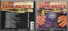 CD 20T GREATEST LINE DANCE PARTY HITS ANDERSON/RODGERS/CASH/PARTON/WYNETTE..