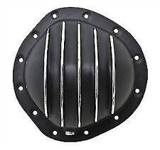 Polished Aluminum Differential Cover GM 8.875 in. 12 Bolt Steel truck BLACK