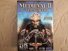 Medieval II: Total War (Limited Edition) and Kingdoms Expansion (PC, 2006)