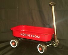 Nordstrom Toy Red Wagon 13 Inches Long Metal & Plastic Retro Radio Flyer