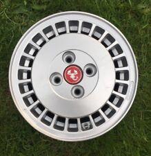 Rare Refurbished Genuine Original Fiat Uno Turbo Alloy Wheel & Abarth Centre Cap
