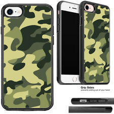 Green Camo Phone Case For Apple iPhone and Samsung