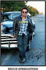 4x6 SIGNED AUTOGRAPH PHOTO REPRINT of BRUCE SPRINGSTEEN  #TP