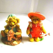 Enesco Cherished Teddies Marsha & Pinkie And Eloise Excellent So Sweet