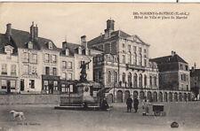 NOGENT-LE-ROTROU 245 hôtel de ville et place du marché magasin chaussures café
