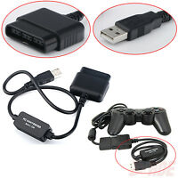 Sony Playstation 2 PS2 Controller to USB Adapter Converter for PS3 & Windows PC