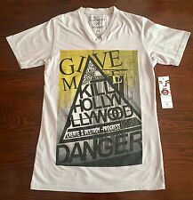 Casualties Of Summer V-Neck Tee Mens Size M NWT