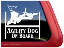 Agility Dog On Board | German Shorthair Pointer Agility Dog Vinyl Decal