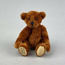 "Tiny Hermann Teddy Original ® Miniature 6cm ""Rust"" Miniature Bear"