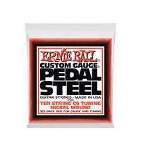 Ernie Ball Pedal Steel 10-String C6 Tuning Nickel Electric Guitar Strings 12-66