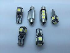 6x LED SMD Innenraumbeleuchtung Weiß Audi A6 C7 A5 8TA 8T3 A7 4GA A4 B8 Q3 U