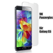 Samsung Galaxy S5 Panzerglas  Glasfolie Echt Glas Displayschutz Schutzglas Folie