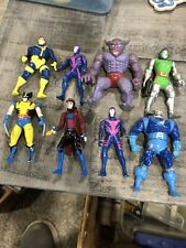 Toy Biz HEAVY METAL HEROES Lot Figures MARVEL & X-MEN Die Cast 1990s