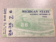 Michigan vs Michigan State 1945 Football Ticket Stub- RARE!