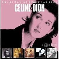 CÉLINE DION - ORIGINAL ALBUM CLASSICS 5 CD 66 TRACKS POP NEU