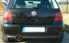 FMS 3 Zoll 76mm Anlage V6-Heck VW Golf IV Lim. (1J, 97-03) 1.9l TDI 66-110kW