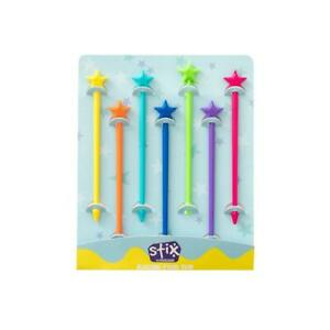 NEW Stix by Lunch Punch Pk7 - Rainbow - Bento Accessories - Food Grade