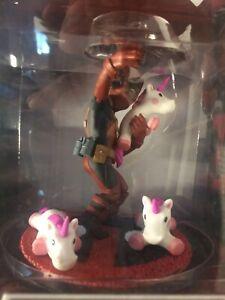 Q Fig Marvel Deadpool Unicorn Selfie Figure