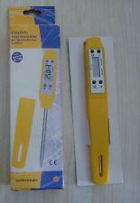 Multi Digital Thermometer Einstichthermometer -50+300°C, gelb, wasserdicht