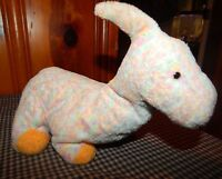 """TY Pluffies - CLOMPS the Dinosaur 12"""" Soft Floppy Plush Stuffed Animal Toy"""