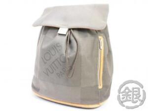 AUTH PRE-OWNED LOUIS VUITTON LV DAMIER GEANT PIONNIER BACKPACK BAG M93055 191906