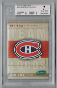 2005-06 Parkhurst #546 Montreal Canadiens BGS 7