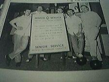 magazine item 1965 - football ten pin bowling team sandy kennon norwich