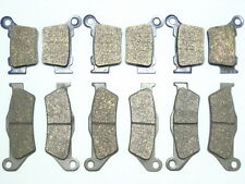 12 Front Rear Brake Pads For 2006-2013 KTM 250 XC BRAKES FREE SHIPPING XC250 RE