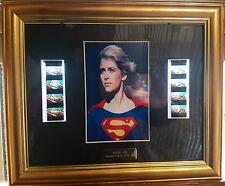 SUPERGIRL HELEN SLATER CON CORNICE E FOTOGRAMMI ORIGINALI VERY RARE SUPERMAN