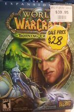 World Of Warcraft: Burning Crusade Expansion Set with added Bonus! VGC (PC Game)