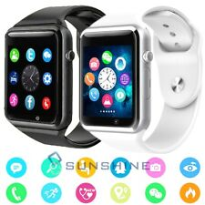 New listing A1 Bluetooth Waterproof Smart Wrist Watch Gsm Phone Android iphone Fitness Sport