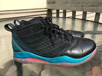 Nike Air Jordan Youth Basketball Shoes Black Teal GS Velocity 6.5Y 693361-063