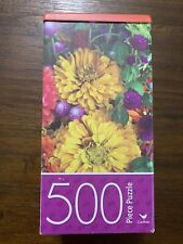 500 Piece Jigsaw Puzzle - by Cardinal - Summer Flowers ~ FREE SHIPPING