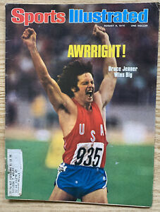 Sports Illustrated August 9, 1976 Bruce Jenner Wins Olympic Decathlon & More
